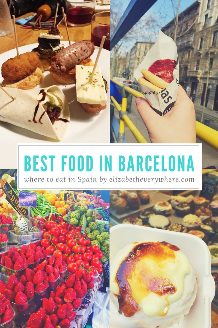 Eating Your Way Through #Barcelona! The best food in Barcelona from burgers to tapas and everything in between! #spain #europe #travel – elizabeth everywhere