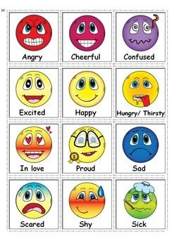 Feelings and Emotions- great for students with autism and special needs #feelingsandemotions  For more resources follow https://www.pinterest.com/angelajuvic/autism-special-education-resources-angie-s-tpt-sto/