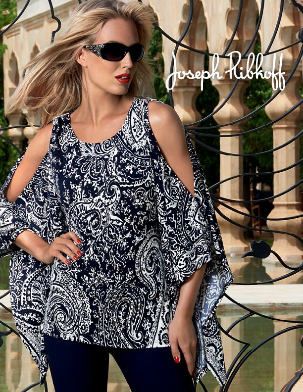 Joseph Ribkoff is een Canadese dameskleding ontwerper. Onze reputatie is gebouwd op de innovatieve veelzijdigheid, betaalbaarheid en kwaliteit van onze collecties. Wij komen tegemoet aan de hogere echelon van de mode-markt en bieden een unieke stijl.  Voorjaar Zomer collectie verkrijgbaar bij Maison Sonja in Heerlen