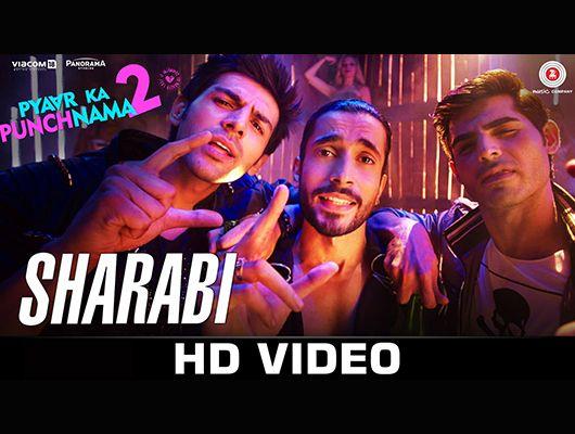 Official video '#Sharabi' from the film Pyaar Ka Punchnama 2 starring Kartik Aaryan,Sunny Singh, Omkar kapoor, Nushrat Bharucha, Sonnalli Seygall, Ishita Sharma.- http://moviekareview.com/sharabi-from-pyaar-ka-punchnama-2/