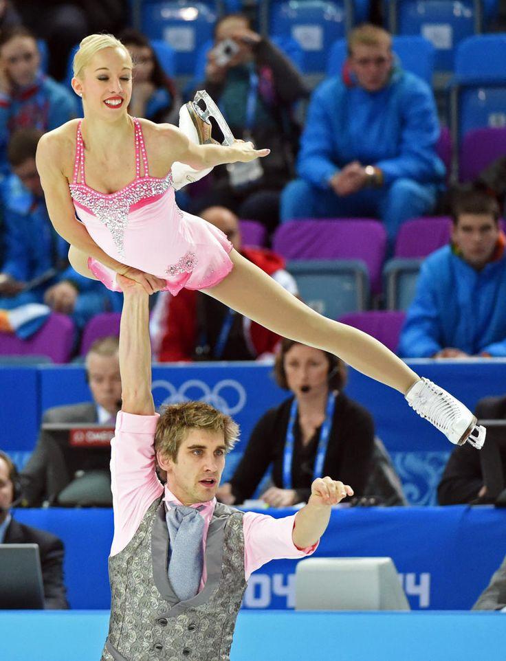 Stacey Kemp & David King of Great Britain (Team Event) #Sochi2014 #FigureSkating