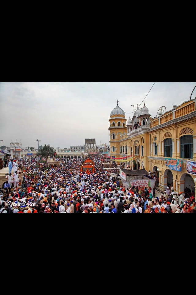 Sikh temple in Pakistan.