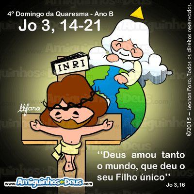 Deus enviou o seu Filho ao mundo