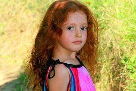 Dívka, Zrzavé Vlasy, Krása, Dítě