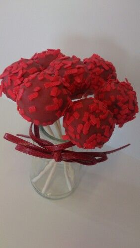 Cakepops red