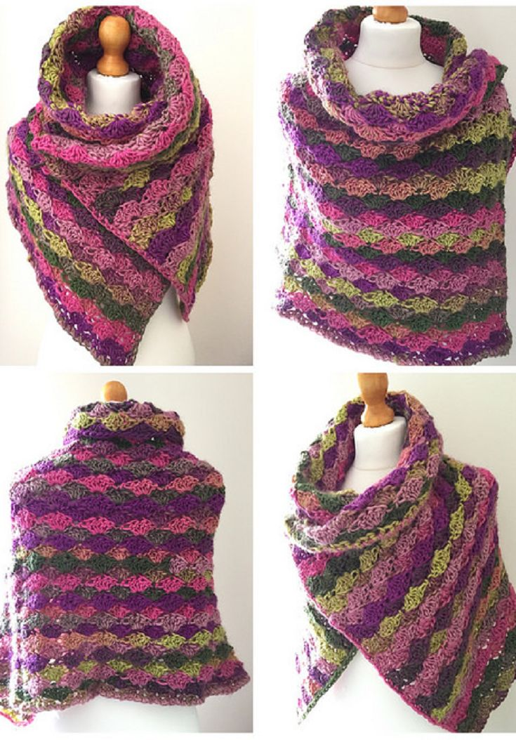 Tulpen Crochet Shawl - The Recipe