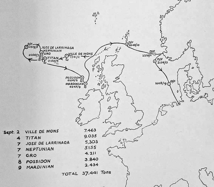 1 1940 Naval Intelligence monitors Gunther Prien  The Anti-Submarine Warfare Branch of Naval Intelligence monitored the patrols of individual U-boats. The October 1940 report shows the known sinkings by U-47 commanded by Kapitanleutnant Prien during his 28 day September patrol. - See more at: http://ww2today.com