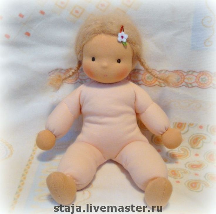 Very huggable doll from Staja. Wish I could read Russian.