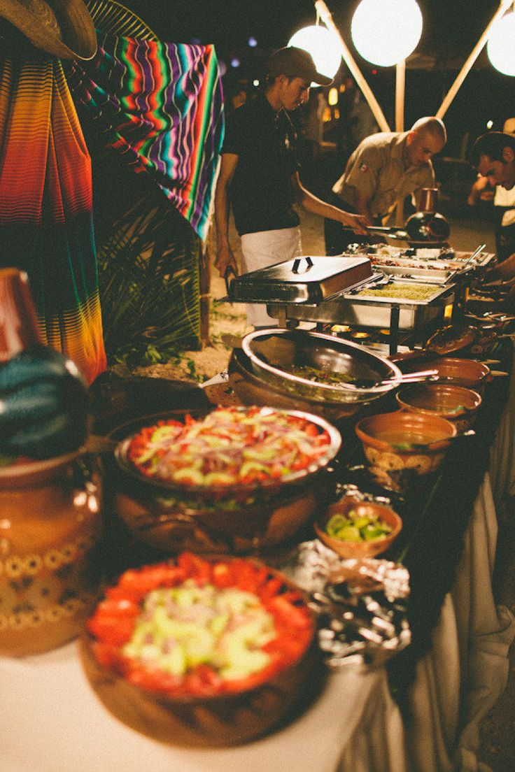 Mexican Food Buffet - Brads favourite food. When i ask him to cook dinner i know it will always be mexican