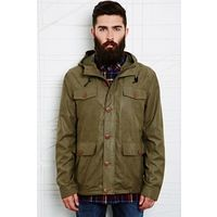 Suit Kristian Hooded Overshirt in Green