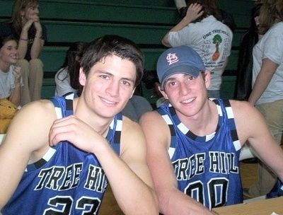James and Bryan, so young!!