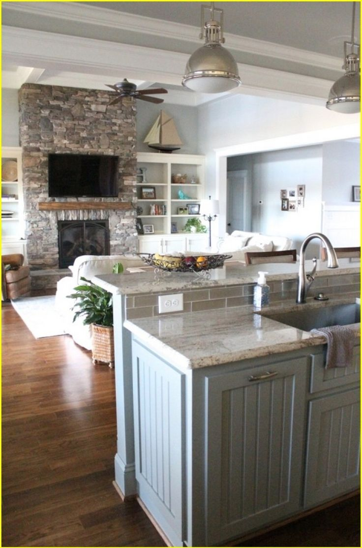 25 Best Ideas About Lake House Kitchens On Pinterest House Additions Open Concept Floor