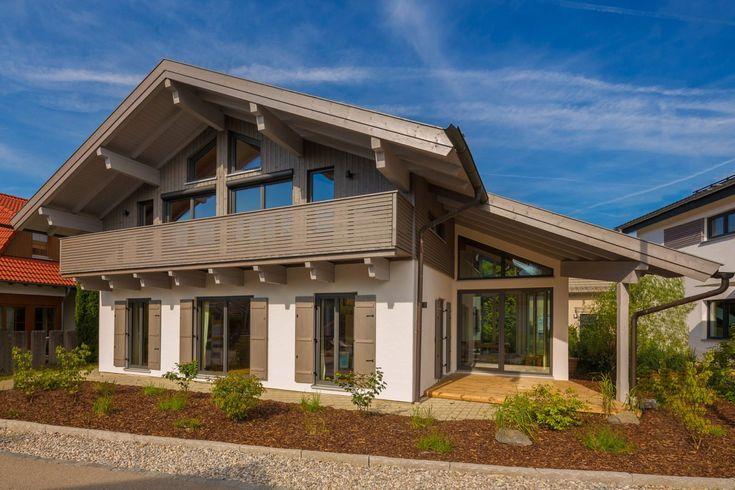 Musterhaus Tegernsee (mit Bildern) Holzhaus, Haus