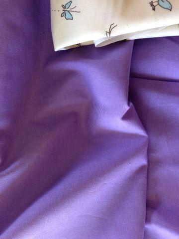 Lilac Purple Homespun cotton fabric $2.00 #homespun #fabric