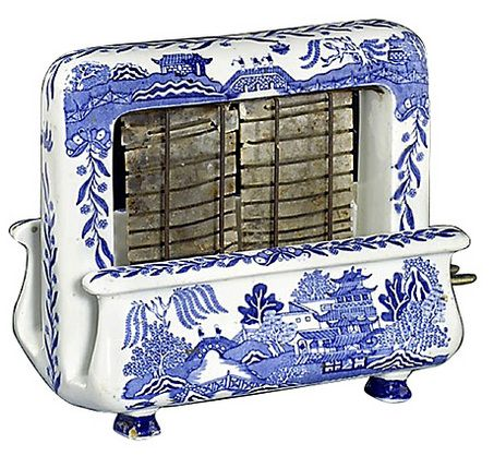 Blue Willow Toaster