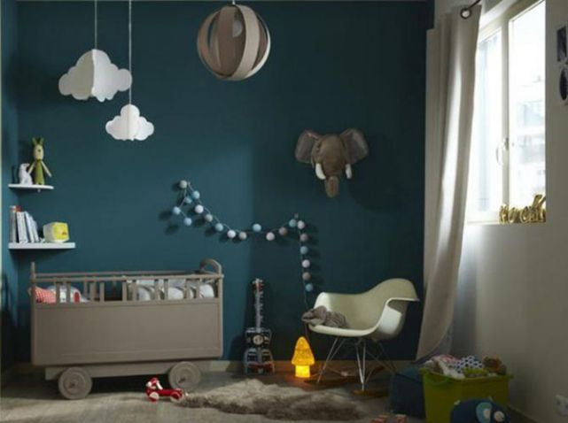 Chambre Enfant Design Et Verte leroymerlin