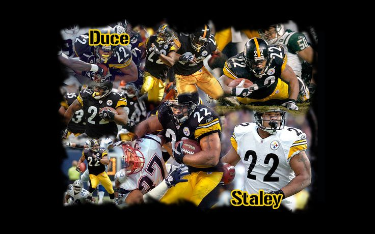 Duce Staley, Pittsburg Steeler.