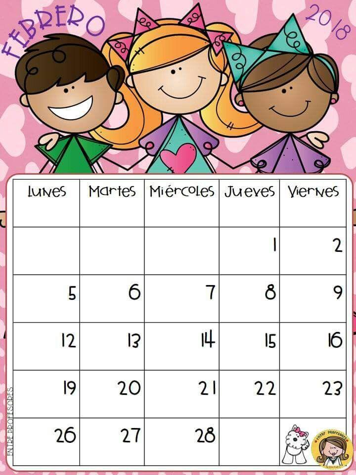 Agendas | calendario niños | Calendario preescolar