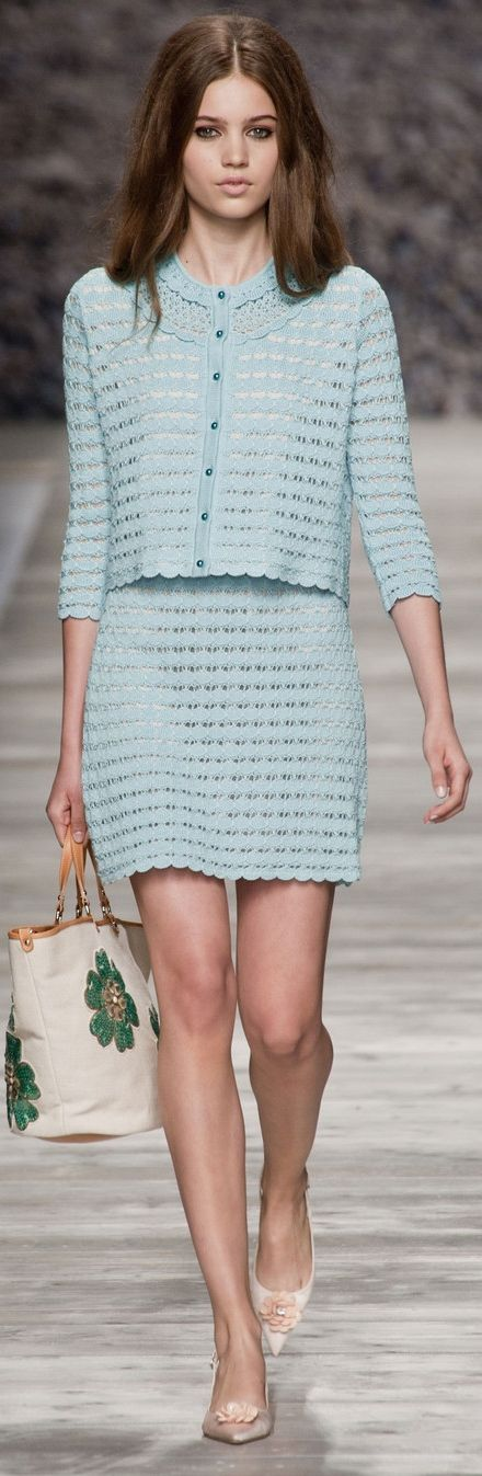 Blugirl at MFW Spring 2014   The House of Beccaria