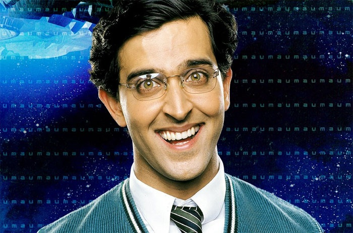 Koi...Mil Gaya (2003)--Herein, sweater vests are only for children and the mentally handicapped.  Hrithik's third thumb is showcased as well as his disturbingly proficient way of appearing feeble-minded.  Also, aliens.