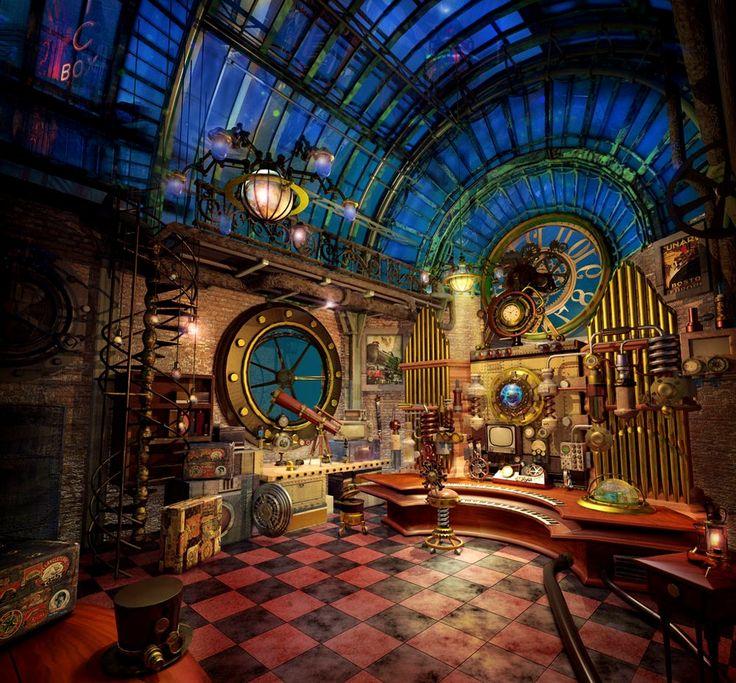 Best 25 Steampunk Home Ideas On Pinterest Steampunk
