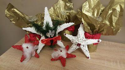 Ötletes Blog: Karácsonyi csillagok újságpapírból