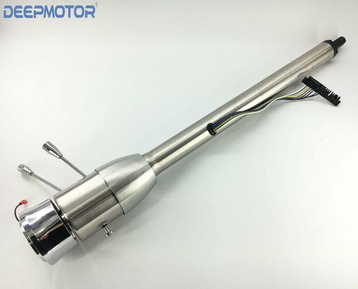 28 polish tilt manual universal steering column w 9 hole