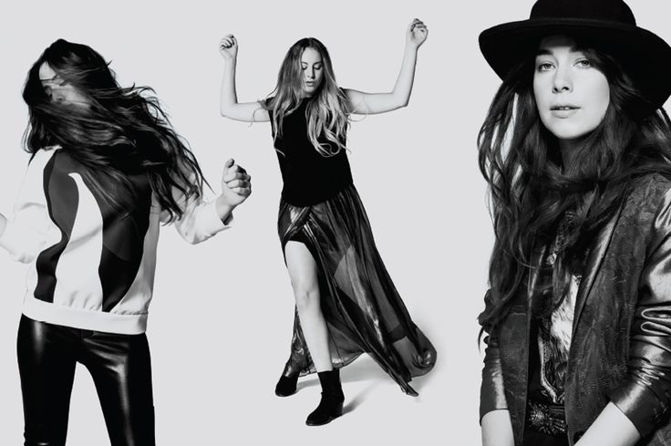 HAIM, the rising indie-pop sister band from Los Angeles.