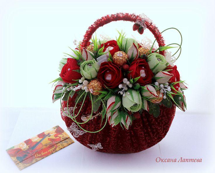 Gallery.ru / Фото #189 - Букеты из конфет 2 - laptewaoxana