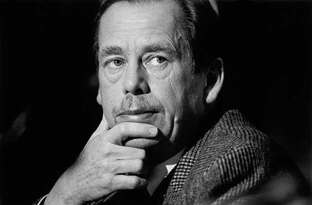Václav Havel by Tomki Němec