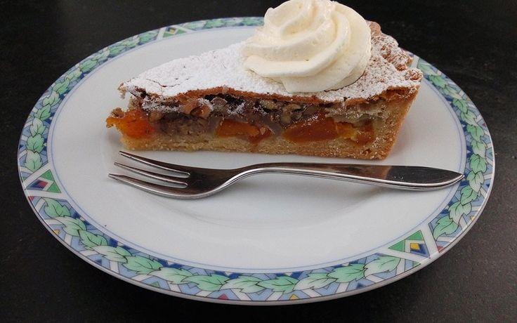 Abrikozen-Pecan taart | Bonnsbakery.com    Abrikozen en pecannoten. Kan dat samen in één taart?