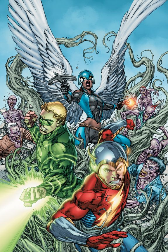 Earth 2 - End Times. The new wonders band together to face Grundy.