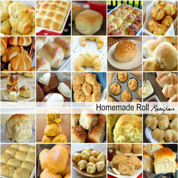 Homemade Roll Recipes