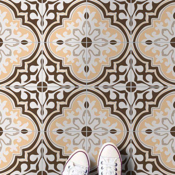 Ankara Tile Stickers Turkish Tile Suitable For Wall And Floor Waterproof All Sizes Modern Decor Art Print Pack 24 Sku Tpt Turkse Tegels Tegels Badkamer Tegelen