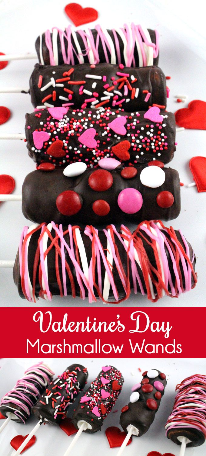 Looking for a unique and delicious Valentines Day Treat for your family?  How about Valentines Day Marshmallow Wands?  So easy to make and you won't believe how yummy they are … your loved ones will beg for more of this great Valentine's Day Dessert.  Follow us for more fun Valentines Day Food ideas. Two Sisters Crafting
