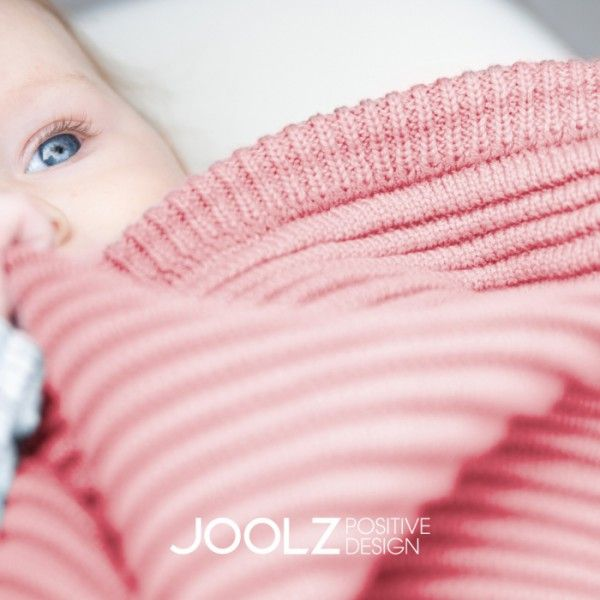 Pletená deka Joolz Essentials Ribbed - Off White