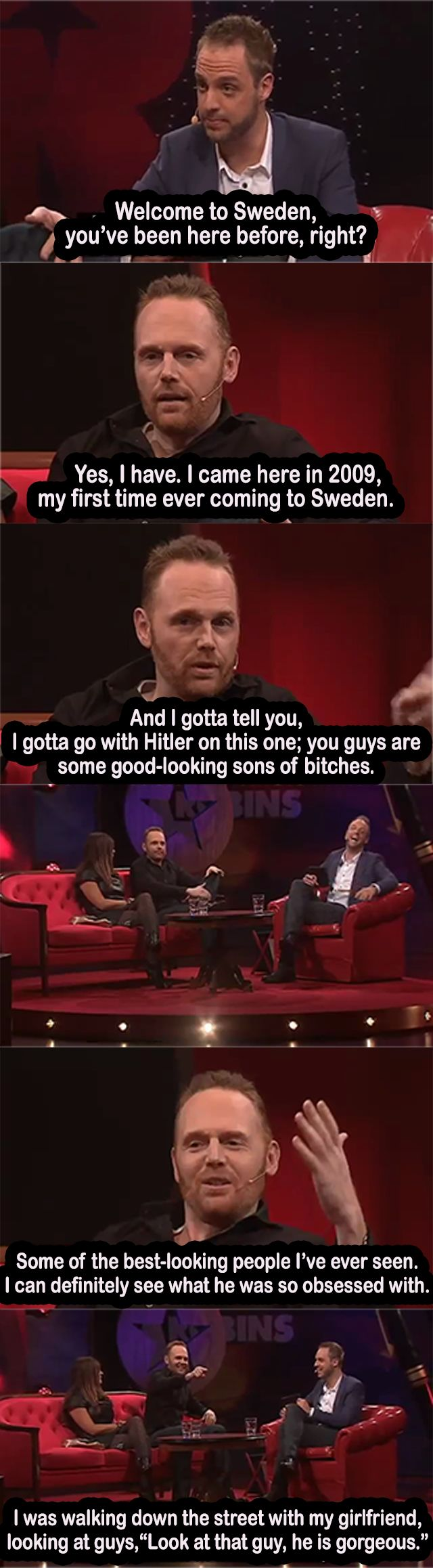 Remember that time you agreed with Hitler? Bill Burr does.
