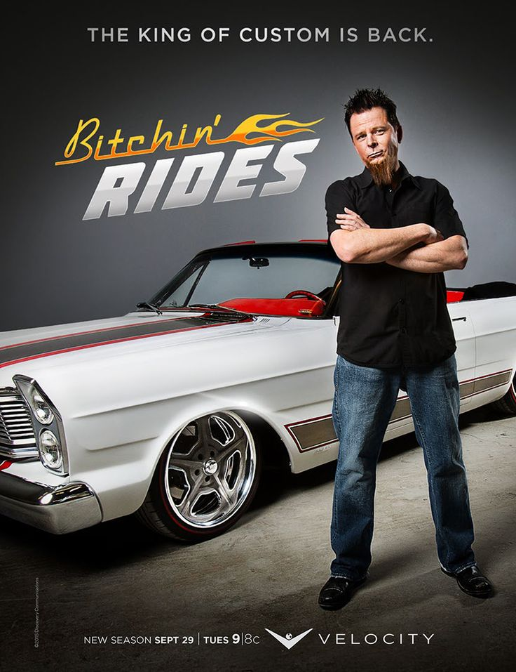 Bitchin' Rides season 2 coming to the V Tuesday, Sept 29 @ 9/8c
