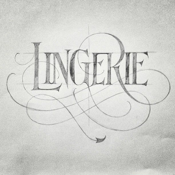 93 Best Calligraphy Pencil Images On Pinterest