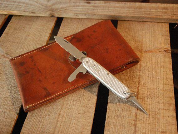 Vintage Dutch Army Pocket Knife KL72 van FlapaWheelyVintage op Etsy