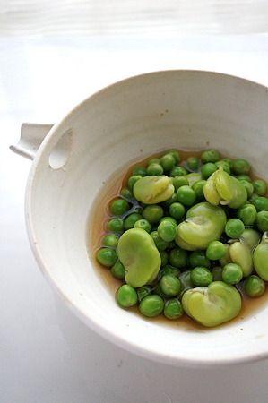 そら豆とグリーンピースの翡翠煮 by ぷう☆pouさん | レシピブログ ...