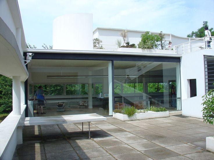 Villa Savoye Le Corbusier Mimoa viktor ramos mimoa