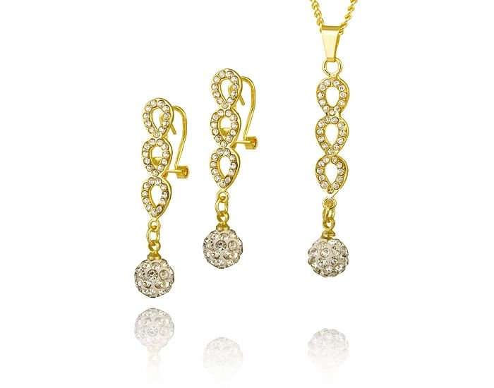 Wspaniały komplet na ekskluzywną okazję! #biżuteria #MarcoDiamanti #komplet