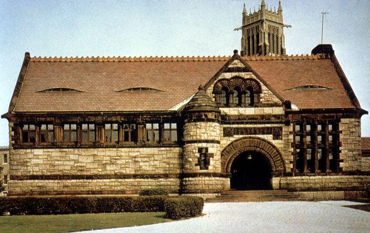 Thomas Crane Library, Boston H.H. Richardson Old