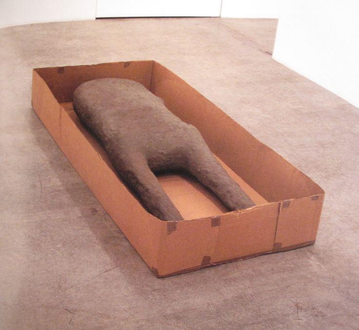 Wednesday's Box. Mark Manders