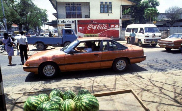 Paramaribo, 26 april 1988 - Anp Archief