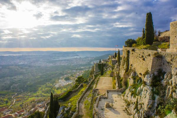 Klis Fortress Croatia Photos, Info & Facts - Footsteps of Jim | Footsteps of Jim