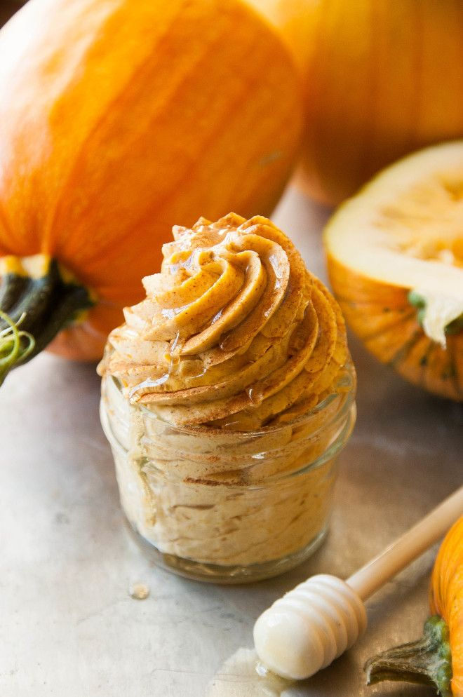 Whipped Cinnamon Pumpkin Honey Butter | We can't wait to eat this delicious spread all season long!
