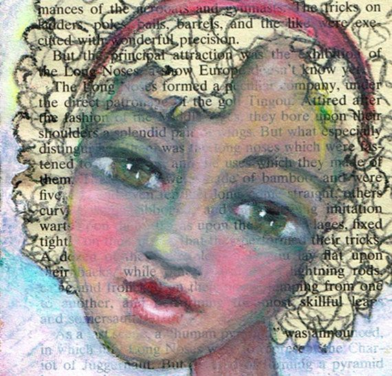 African American Pretty Girl Teen Art by ArtfulBitsAndBytes, $14.00