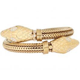 Bracelet Serpent Argent - Bracelet Gas